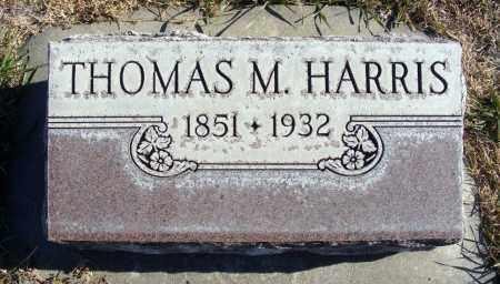 HARRIS, THOMAS M. - Box Butte County, Nebraska | THOMAS M. HARRIS - Nebraska Gravestone Photos