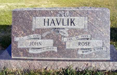 HAVLIK, JOHN - Box Butte County, Nebraska | JOHN HAVLIK - Nebraska Gravestone Photos