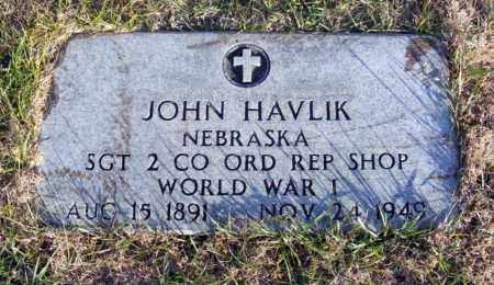 HAVLIK, JOHN - Box Butte County, Nebraska | JOHN HAVLIK - Nebraska Gravestone Photos
