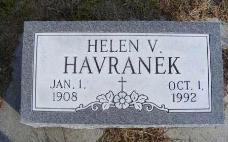 HAVRANEK, HELEN V. - Box Butte County, Nebraska | HELEN V. HAVRANEK - Nebraska Gravestone Photos