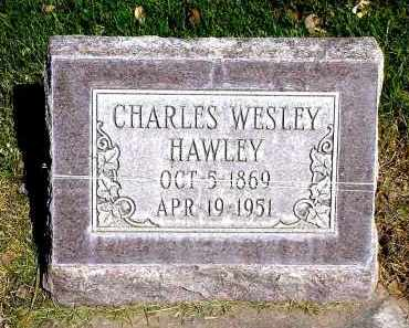 HAWLEY, CHARLES WESLEY - Box Butte County, Nebraska | CHARLES WESLEY HAWLEY - Nebraska Gravestone Photos