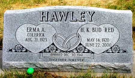 "HAWLEY, H.K. BUD ""RED"" - Box Butte County, Nebraska | H.K. BUD ""RED"" HAWLEY - Nebraska Gravestone Photos"