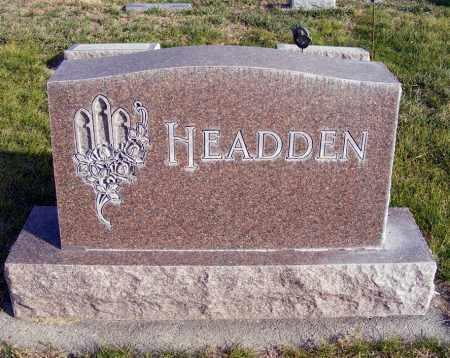 HEADDEN, FAMILY - Box Butte County, Nebraska   FAMILY HEADDEN - Nebraska Gravestone Photos