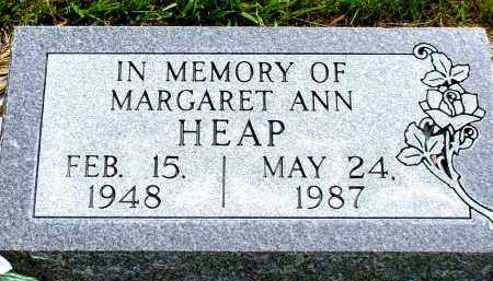 HEAP, MARGARET ANN - Box Butte County, Nebraska   MARGARET ANN HEAP - Nebraska Gravestone Photos