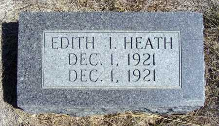 HEATH, EDITH I. - Box Butte County, Nebraska | EDITH I. HEATH - Nebraska Gravestone Photos