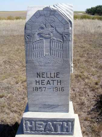 HEATH, NELLIE - Box Butte County, Nebraska | NELLIE HEATH - Nebraska Gravestone Photos