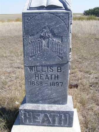 HEATH, WILLIS B. - Box Butte County, Nebraska | WILLIS B. HEATH - Nebraska Gravestone Photos