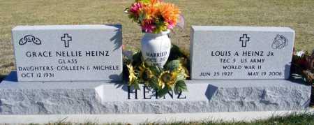 GLASS HEINZ, GRACE NELLIE - Box Butte County, Nebraska | GRACE NELLIE GLASS HEINZ - Nebraska Gravestone Photos