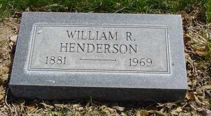 HENDERSON, WILLIAM R. - Box Butte County, Nebraska | WILLIAM R. HENDERSON - Nebraska Gravestone Photos