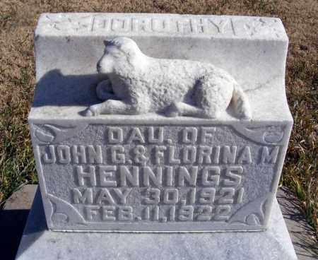 HENNINGS, DOROTHY - Box Butte County, Nebraska   DOROTHY HENNINGS - Nebraska Gravestone Photos