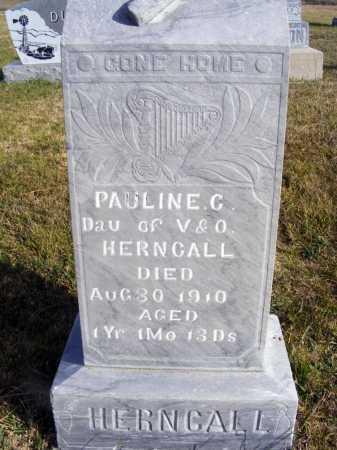 HERNCALL, PAULINE G. - Box Butte County, Nebraska   PAULINE G. HERNCALL - Nebraska Gravestone Photos