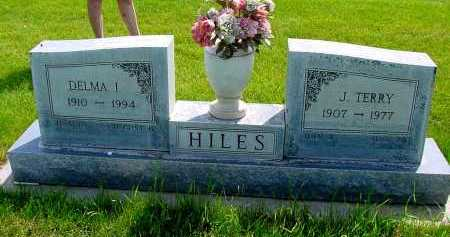 HILES, J. TERRY - Box Butte County, Nebraska | J. TERRY HILES - Nebraska Gravestone Photos