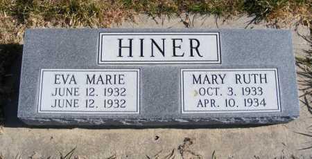 HINER, EVA MARIE - Box Butte County, Nebraska | EVA MARIE HINER - Nebraska Gravestone Photos