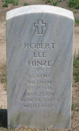 HINZE, ROBERT  LEE - Box Butte County, Nebraska | ROBERT  LEE HINZE - Nebraska Gravestone Photos