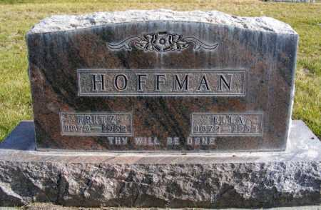 HOFFMAN, ELLA - Box Butte County, Nebraska | ELLA HOFFMAN - Nebraska Gravestone Photos