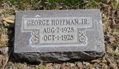 HOFFMAN, GEORGE JR. - Box Butte County, Nebraska | GEORGE JR. HOFFMAN - Nebraska Gravestone Photos