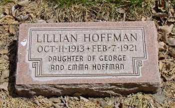 HOFFMAN, LILLIAN - Box Butte County, Nebraska   LILLIAN HOFFMAN - Nebraska Gravestone Photos