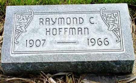HOFFMAN, RAYMOND C. - Box Butte County, Nebraska | RAYMOND C. HOFFMAN - Nebraska Gravestone Photos