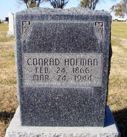 HOFMAN, CONRAD - Box Butte County, Nebraska | CONRAD HOFMAN - Nebraska Gravestone Photos
