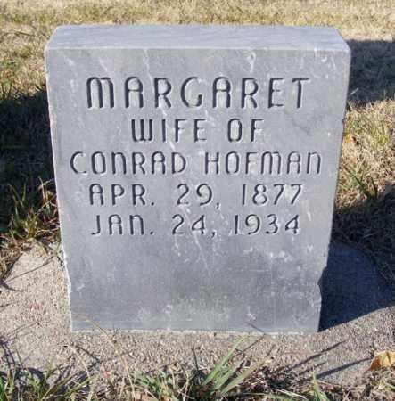 HOFMAN, MARGARET - Box Butte County, Nebraska   MARGARET HOFMAN - Nebraska Gravestone Photos