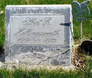 HOLLINGSWORTH, ELBERT R. - Box Butte County, Nebraska | ELBERT R. HOLLINGSWORTH - Nebraska Gravestone Photos