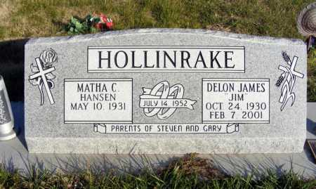 HANSEN HOLLINRAKE, MATHA C. - Box Butte County, Nebraska | MATHA C. HANSEN HOLLINRAKE - Nebraska Gravestone Photos