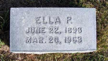 HOLLINRAKE, ELLA P. - Box Butte County, Nebraska   ELLA P. HOLLINRAKE - Nebraska Gravestone Photos