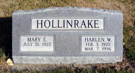 HOLLINRAKE, MARY E. - Box Butte County, Nebraska | MARY E. HOLLINRAKE - Nebraska Gravestone Photos