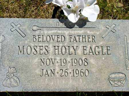 HOLY EAGLE, MOSES - Box Butte County, Nebraska | MOSES HOLY EAGLE - Nebraska Gravestone Photos