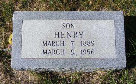 HOMRIGHAUSEN, HENRY - Box Butte County, Nebraska | HENRY HOMRIGHAUSEN - Nebraska Gravestone Photos