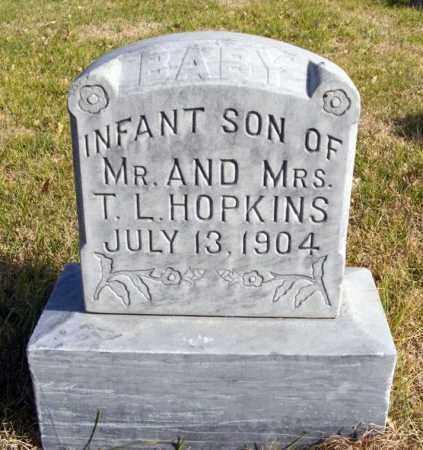HOPKINS, INFANT SON - Box Butte County, Nebraska | INFANT SON HOPKINS - Nebraska Gravestone Photos