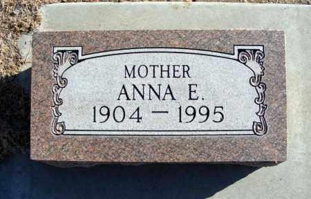JESSEN HORSTMAN, ANNA E. - Box Butte County, Nebraska | ANNA E. JESSEN HORSTMAN - Nebraska Gravestone Photos