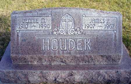 HOUDEK, JENNIE M. - Box Butte County, Nebraska | JENNIE M. HOUDEK - Nebraska Gravestone Photos