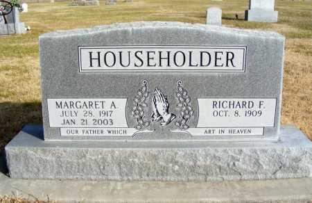 HOUSEHOLDER, RICHARD F. - Box Butte County, Nebraska | RICHARD F. HOUSEHOLDER - Nebraska Gravestone Photos