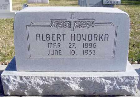 HOVORKA, ALBERT - Box Butte County, Nebraska | ALBERT HOVORKA - Nebraska Gravestone Photos