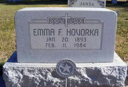TEANSKY HOVORKA, EMMA F. - Box Butte County, Nebraska | EMMA F. TEANSKY HOVORKA - Nebraska Gravestone Photos
