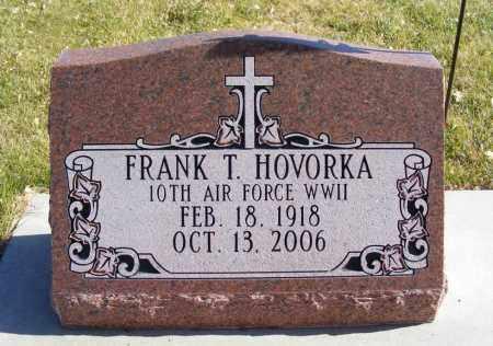 HOVORKA, FRANK T. - Box Butte County, Nebraska | FRANK T. HOVORKA - Nebraska Gravestone Photos