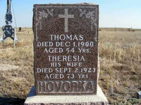 HOVORKA, THERESIA - Box Butte County, Nebraska | THERESIA HOVORKA - Nebraska Gravestone Photos