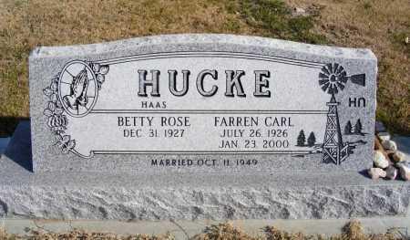 HUCKE, FARREN CARL - Box Butte County, Nebraska   FARREN CARL HUCKE - Nebraska Gravestone Photos