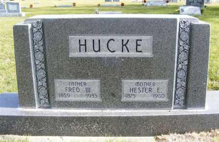 HUCKE, HESTER E. - Box Butte County, Nebraska | HESTER E. HUCKE - Nebraska Gravestone Photos