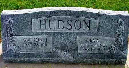 HUDSON, MARION I. - Box Butte County, Nebraska | MARION I. HUDSON - Nebraska Gravestone Photos