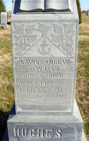 HUGHES, LAWERANCE W. - Box Butte County, Nebraska | LAWERANCE W. HUGHES - Nebraska Gravestone Photos