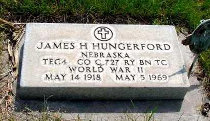 HUNGERFORD, JAMES H. - Box Butte County, Nebraska | JAMES H. HUNGERFORD - Nebraska Gravestone Photos
