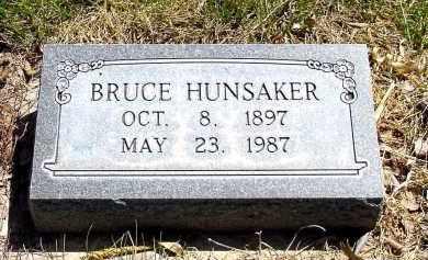 HUNSAKER, BRUCE - Box Butte County, Nebraska   BRUCE HUNSAKER - Nebraska Gravestone Photos