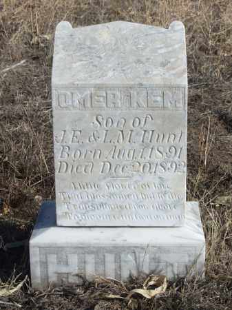 HUNT, OMER KEM - Box Butte County, Nebraska | OMER KEM HUNT - Nebraska Gravestone Photos