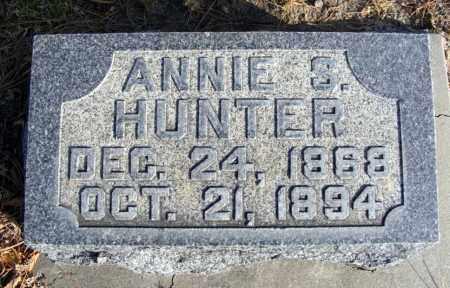 HUNTER, ANNIE S. - Box Butte County, Nebraska | ANNIE S. HUNTER - Nebraska Gravestone Photos