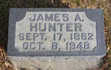 HUNTER, JAMES A. - Box Butte County, Nebraska | JAMES A. HUNTER - Nebraska Gravestone Photos