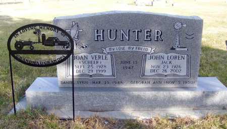 SCHEER HUNTER, JOAN VERLE - Box Butte County, Nebraska | JOAN VERLE SCHEER HUNTER - Nebraska Gravestone Photos