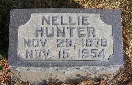 HUNTER, NELLIE - Box Butte County, Nebraska | NELLIE HUNTER - Nebraska Gravestone Photos