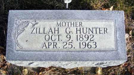 HUNTER, ZILLAH G. - Box Butte County, Nebraska | ZILLAH G. HUNTER - Nebraska Gravestone Photos